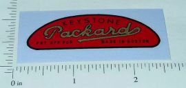 Keystone Packard Trucks Grill/Radiator Sticker