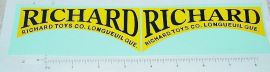 Richard Toys Ride On Door Stickers