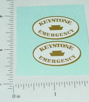 Keystone Emergency Wrecker Truck Sticker Set Main Image
