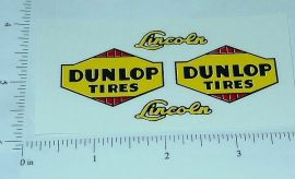Lincoln COE Style Dunlop Wrecker Sticker Set