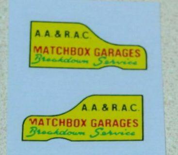 Matchbox 13C Thames Wreck Truck Sticker Pair Main Image