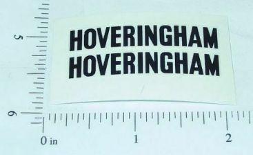 Matchbox 17D Hoveringham Tipper Truck Stickers Main Image