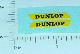 Matchbox Dunlop Van Replacement Stickers