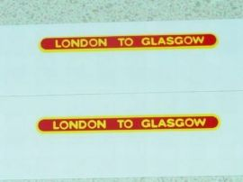 Matchbox 21B Long Distance Coach Sticker Set