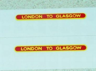 Matchbox 21B Long Distance Coach Sticker Set Main Image