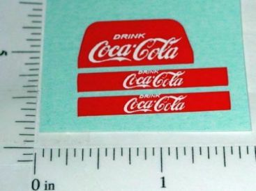Matchbox 37B Coca Cola Lorry Truck Stickers Main Image