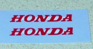 Matchbox #38C Honda Motorcycle Trailer Stickers Main Image