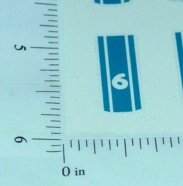 Matchbox #41C Ford GT Racer Hood Sticker Main Image