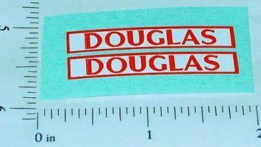 Matchbox Douglas 8-Wheel Tipper Truck Stickers    MB-51CD Main Image