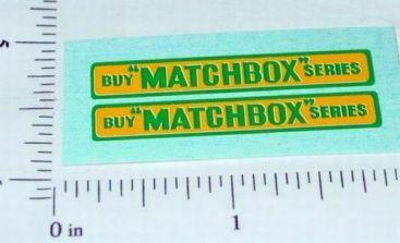 Matchbox 5B London Bus Replacement Stickers Main Image