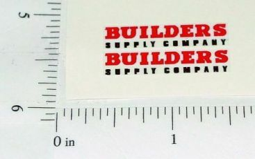 Matchbox Morris Builder Supply Truck Stickers Main Image