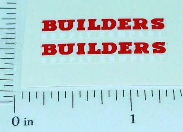 Matchbox Morris Builder Supply Truck Stickers Main Image