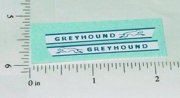 Matchbox Greyhound Bus Replacement Stickers Main Image