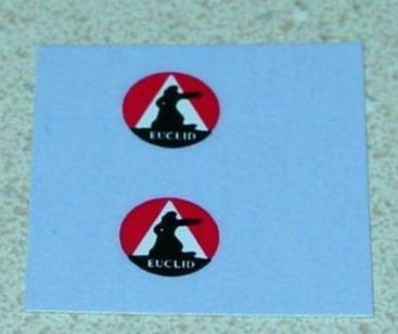 Matchbox 6B Euclid Quarry Truck Sticker Set Main Image
