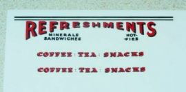Matchbox Mobile Refreshment Canteen Stickers