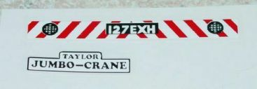 Matchbox #K-14A Taylor Jumbo Crane Stickers Main Image