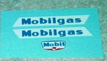 Matchbox #M8A Mobilgas Tanker Stickers Main Image