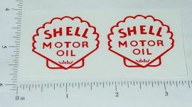 Metalcraft Shell Delivery Truck Sticker Set