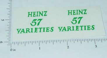 Metalcraft Heinz 57 Stake Truck Sticker Set Main Image