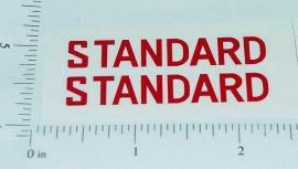 Metalcraft Standard Oil Stake Truck Sticker Set