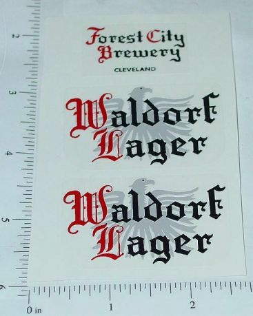 Metalcraft Waldorf Lager Stake Truck Stickers Main Image