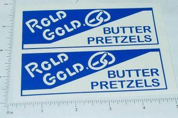 Metalcraft Rold Gold Box Van Sticker Set Main Image