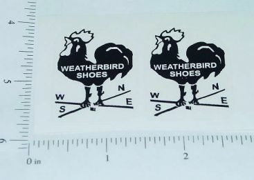 Metalcraft Weatherbird Shoes Truck Stickers Main Image