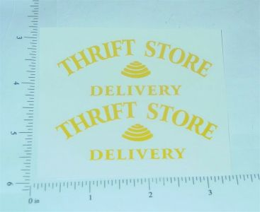 Metalcraft Thrift Store Deliver Stickers Main Image