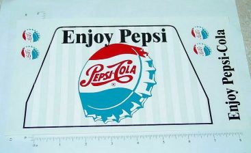 Otaco Minnitoys Pepsi  Truck Stickers Main Image