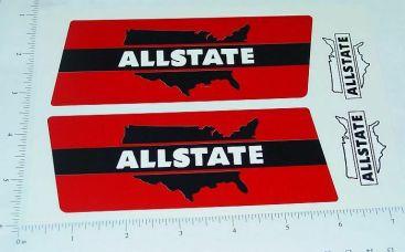 Marx Allstate Auto Transporter Sticker Set Main Image