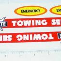 Marx Allstate Towing Wrecker Truck Stickers Main Image