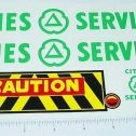 Marx Powerhouse Cities Service Wrecker Stickers Main Image