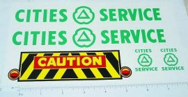 Marx Powerhouse Cities Service Wrecker Stickers