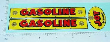 Marx Joy Gasoline Tanker Truck Sticker Set Main Image
