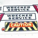 Marx Powerhouse Turnpike Wrecker Sticker Set Main Image