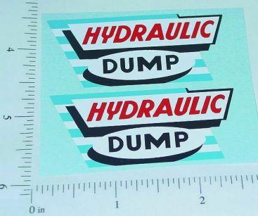Marx Hydraulic Dump Truck Style Stickers Main Image