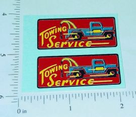Marx Towing Service Replacement Stickers