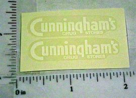 Marx Cunningham Drug Stores Sticker Set