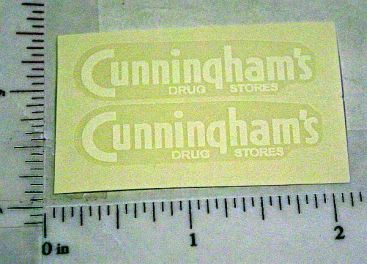 Marx Cunningham Drug Stores Sticker Set Main Image