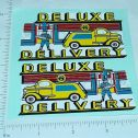 Marx Deluxe Delivery Ride On Truck Sticker Set Main Image