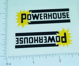 Marx Powerhouse Logo Door Stickers