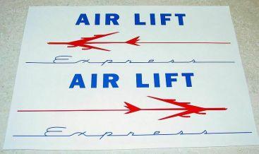 Marx Air Lift Express Truck Sticker Set Main Image