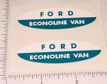 Nylint Ford Econoline Van Sticker Set Main Image