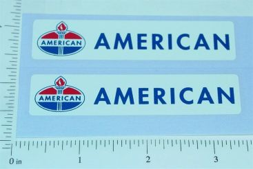 Pair Nylint Ford American Tow Truck Stickers Main Image