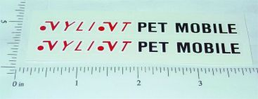 Nylint Ford Bronco Petmobile Sticker Set Main Image