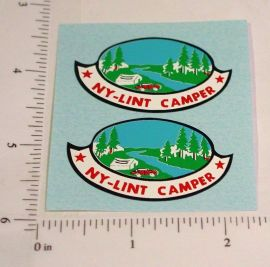 Nylint Ford Pickup Camper Truck Stickers