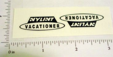 Nylint Vacationer Camper Stickers Main Image
