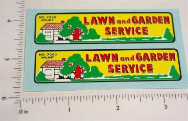 Nylint Ford Econoline Lawn & Garden Stickers Main Image
