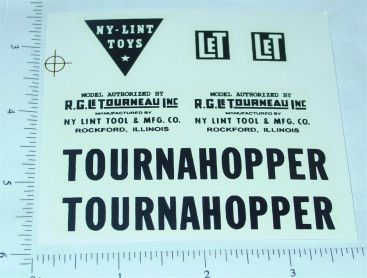 Nylint Tournahopper Const Vehicle Sticker Set Main Image