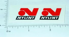 Nylint Red/Black Late 60's Logo Stickers        NY-019R